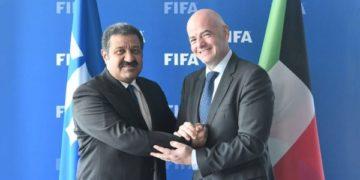 انفانتينو يعلن مشاركة مصر في البطولة