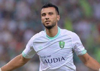 عمر السومة لاعب الأهلي السعودي