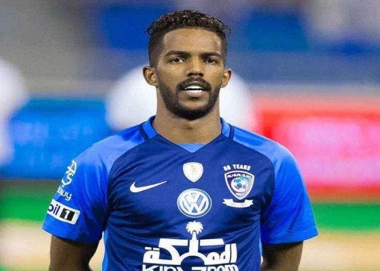 نواف العابد لاعب الهلال السعودي