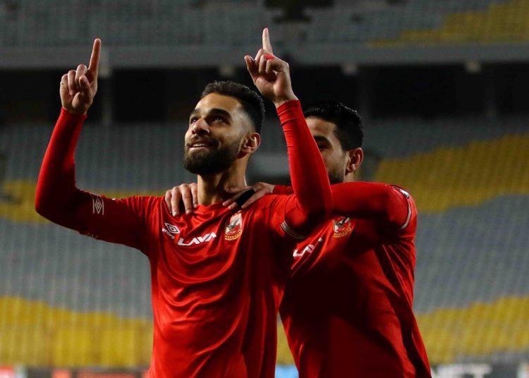 عمرو السولية لاعب الأهلي المصري
