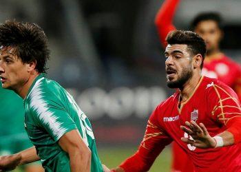 مباراة العراق و البحرين فى التصفيات الآسيوية المزدوجة