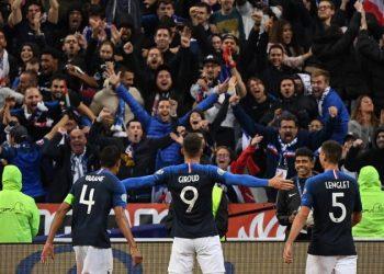 جانب من احتفال فرنسا
