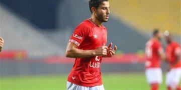 حمدي فتحي لاعب الأهلي المصري