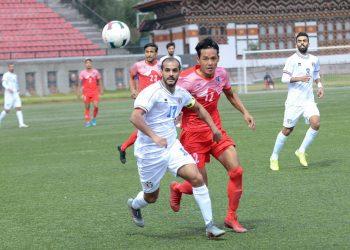مباراة المنتخب الوطني ونيبال