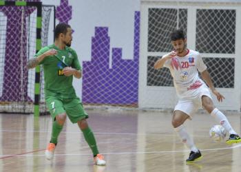 مباراة العربي والكويت في دوري الصالات (أرشيفية)