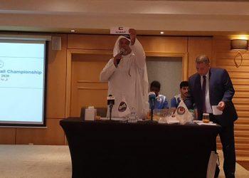 قرعة البطولة الآسيوية لكرة اليد في نسختها الـ19 والتي تستضيفها الكويت