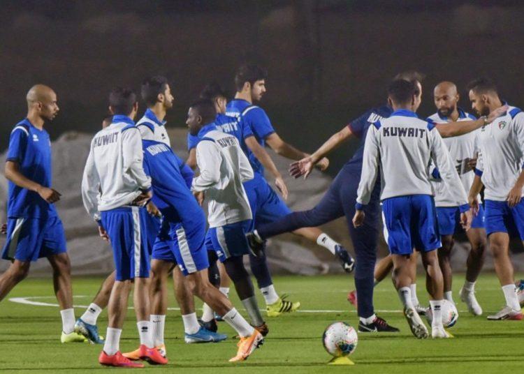 تدريبات منتخب الكويت - اتحاد الكرة