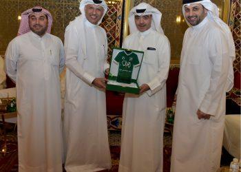 عبدالله أحمد الشاهين الربيّع مؤسس التيار الأخضر وأحمد النجار