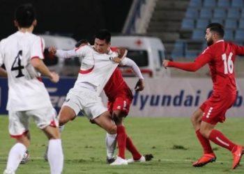 مباراة لبنان وكوريا الشمالية فى تصفيات آسيا المزدوجة