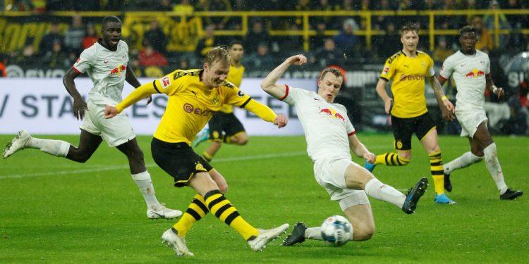 مباراة بروسيا دورتموند ولايبزيج