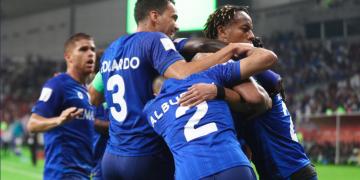 اخبار نادي الهلال السعودي - فرحة سابقة للاعبي الفريق