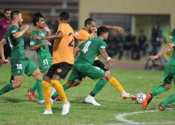 جانب من مباراة العربي و القادسية _ارشيفية