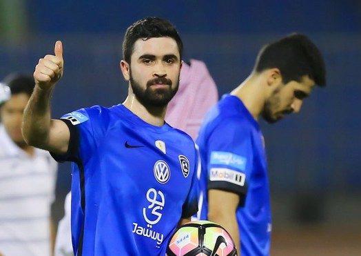 الهلال السعودي - عمر خربين