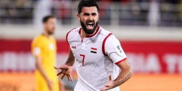 عمر خربين - منتخب سوريا