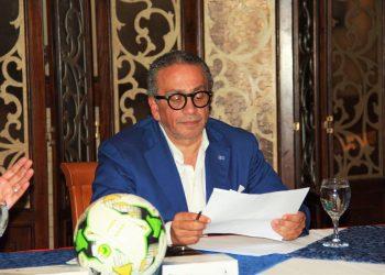 عمرو الجنايني رئيس اللجنة الخماسية التي تدير اتحاد الكرة المصري