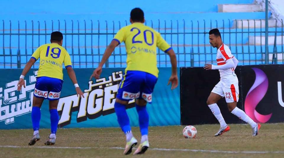 أهداف مباراة الزمالك وطنطا في الدوري المصري التيار الاخضر