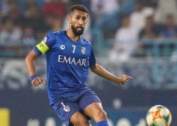 سلمان الفرج لاعب الهلال السعودي
