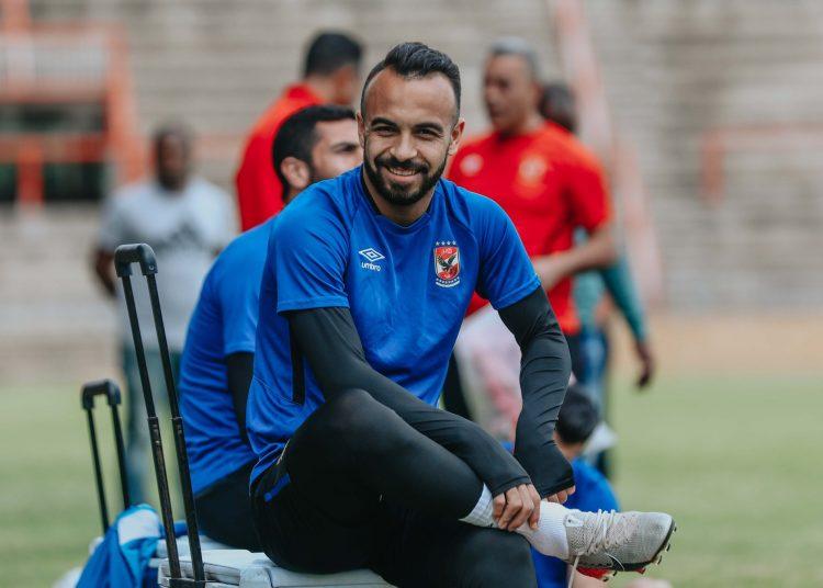 مجدي قفشة لاعب الأهلي المصري