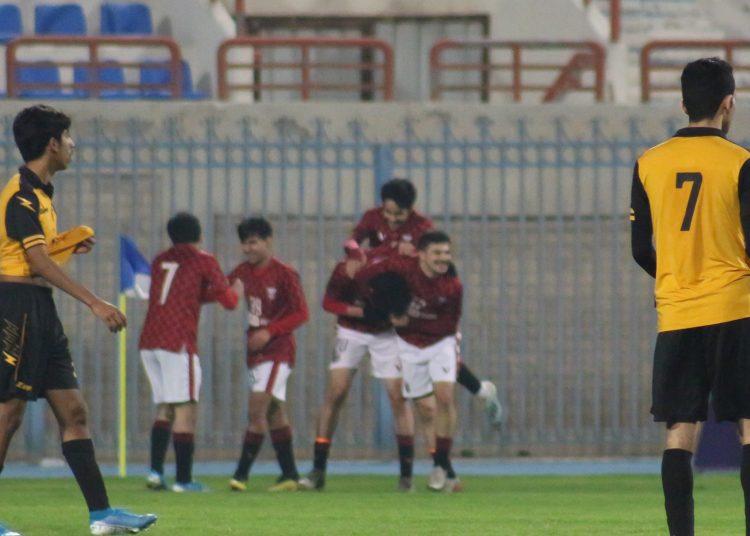 فريق النصر يحتل المركز الثالث في الدوري