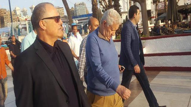مرتضى منصور وهاني أبو ريدة