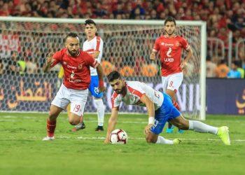 مباراة الأهلي والزمالك في قمة الكرة المصرية