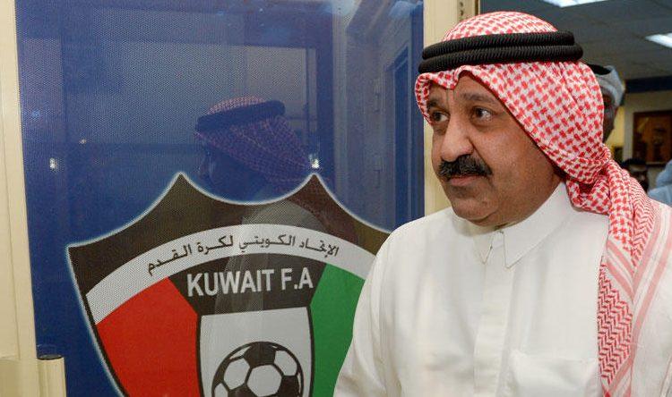 أحمد اليوسف رئيس الاتحاد الكويتي لكرة الكرة القدم