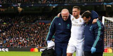 إصابة ايدين هازارد | ريال مدريد