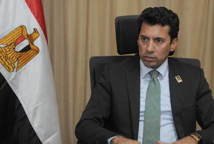 الدكتور أشرف صبحي وزير الرياضة المصري - مونديال اليد