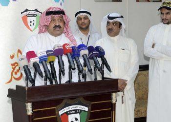احمد اليوسف رئيس الاتحاد الكويتي لكرة القدم _ ارشيفية