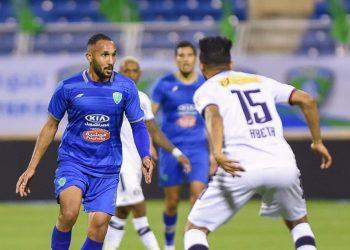 احدى المباريات في الدوري السعودي