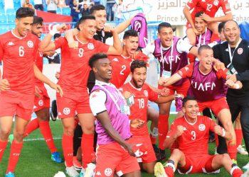 فرحة تونس بالفوز في كأس العرب