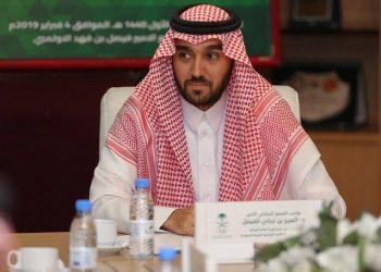 الأمير عبدالعزيز بن تركي الفيصل وزير الرياضة السعودة