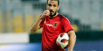 علي معلول لاعب الأهلي المصري