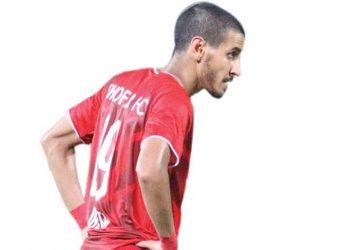 طلال جازع لاعب نادي ظفار العماني