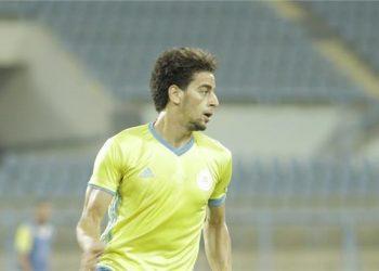 محمد الشامي لاعب الإسماعيلى المصري