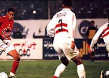 الاهلي والزمالك مباراة 6-1