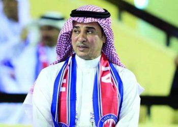 عبدالعزيز المضحي رئيس مجلس إدارة نادي العدالة السعودي