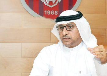 ناصر اليماحي رئيس شركة كرة القدم بنادي الفجيرة الإماراتي