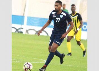 محمد جمال لاعب نادي الإمارات