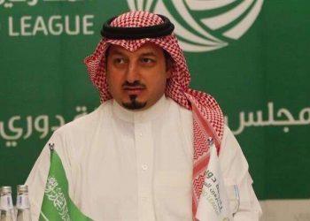 ياسر المسحل رئيس الاتحاد السعودي لكرة القدم