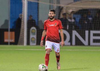 ياسر إبراهيم لاعب الأهلي المصري