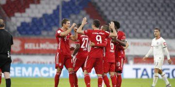 مباراة بايرن ميونخ وآينتراخت فرانكفورت في كأس ألمانيا