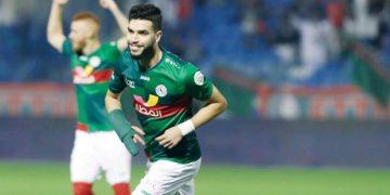 المغربي وليد أزارو لاعب الاتفاق السعودي
