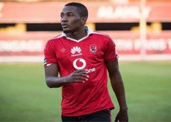 النيجيري جونيور أجايي لاعب الأهلي المصري