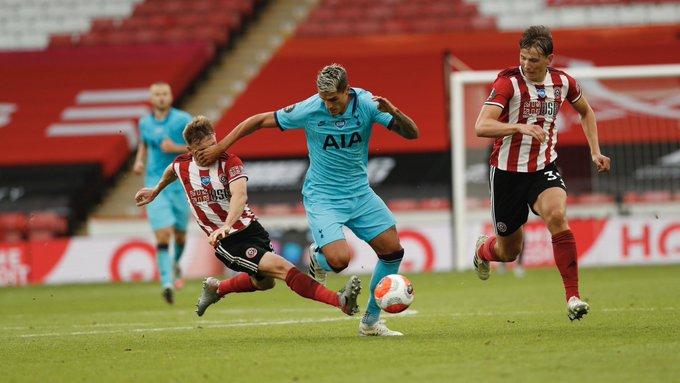 شيفيلد يونايتد يكتسح توتنهام بثلاثة أهداف لهدف في الدوري الإنجليزي التيار الاخضر