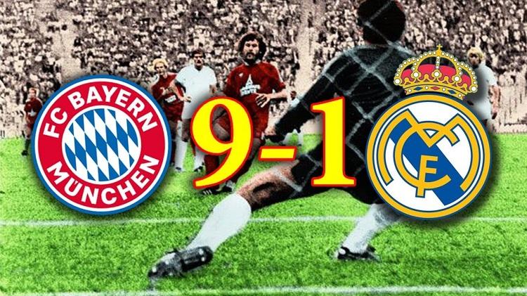 بعد فضيحة برشلونة أكبر نتيجة بين ريال مدريد وبايرن ميونخ التيار الاخضر