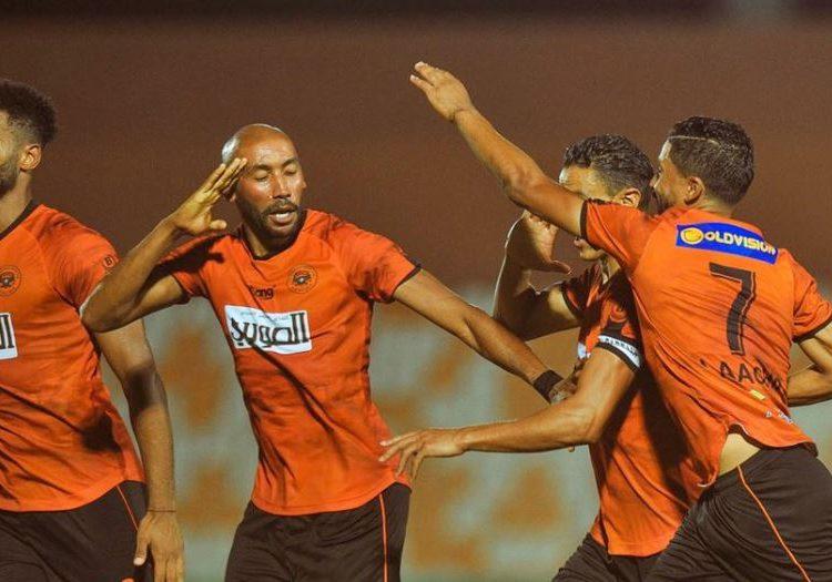 مباراة الوداد ضد نهضة بركان في الدوري المغربي