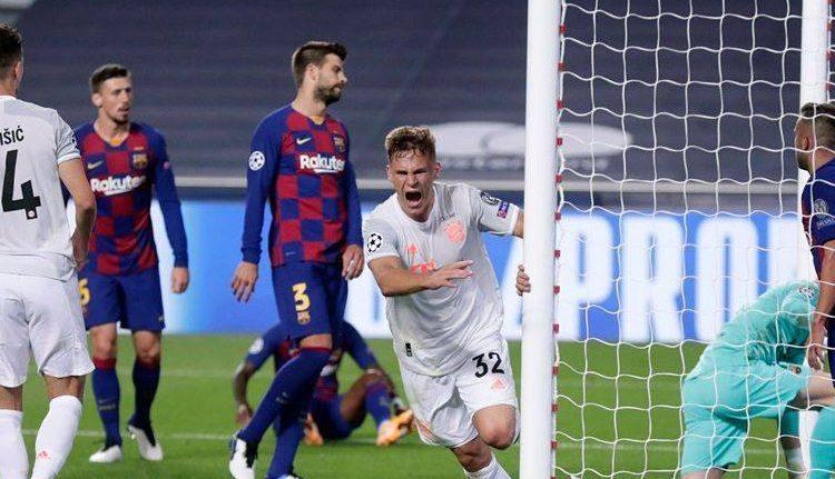 مباراة برشلونة وبايرن ميونخ