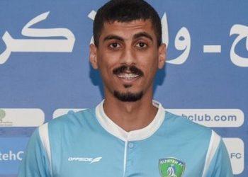 علي لاجامي لاعب الفتح السعودي