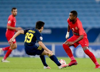 مباراة شباب الأهلي الإماراتي مع بختاكور الأوزبكي